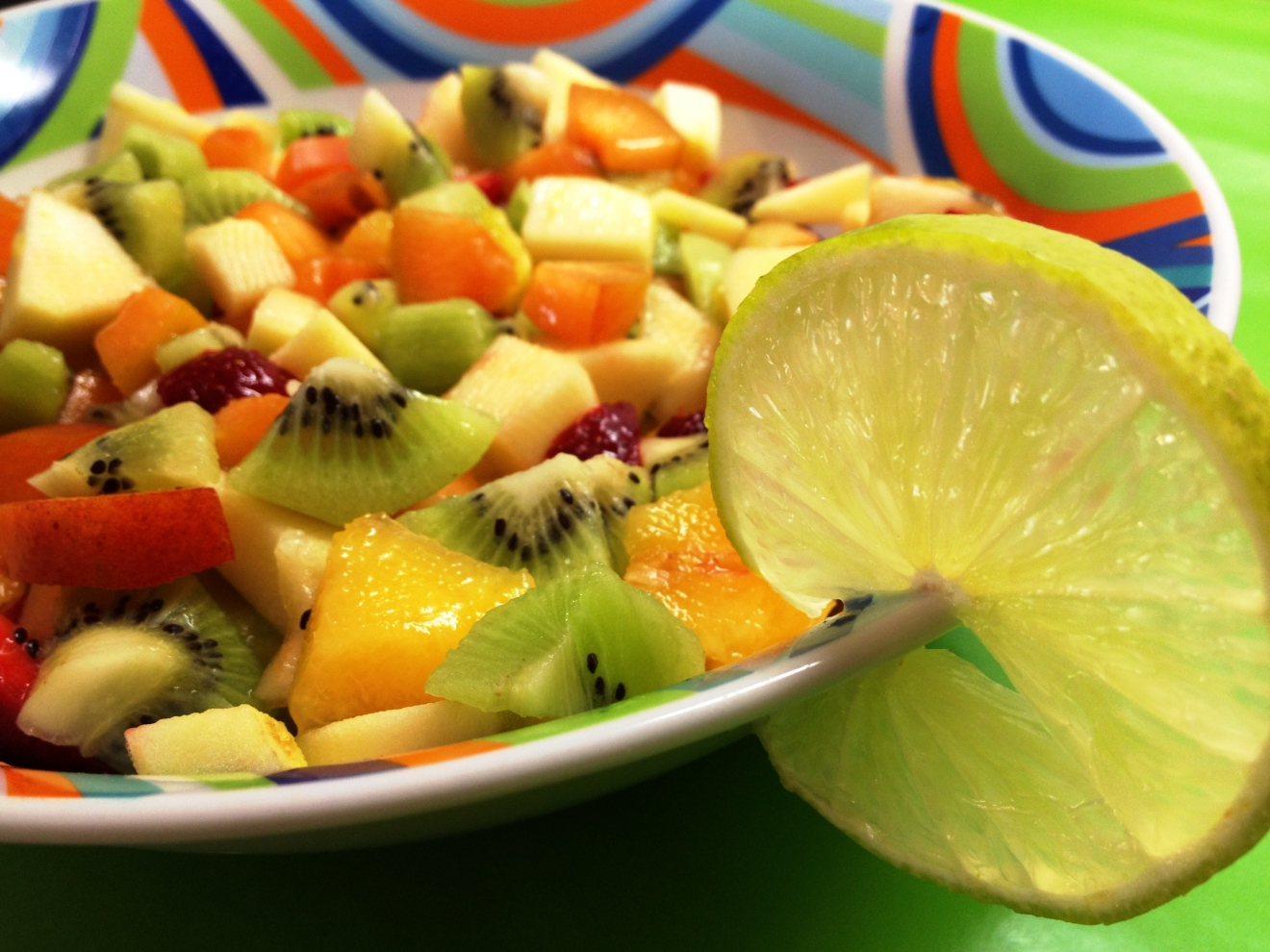 Party Regelaar Fruit Salade Halal