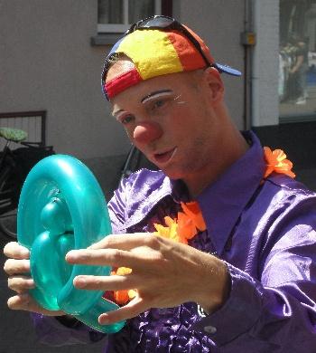 Artiestenboekingen Clown Party Regelaar