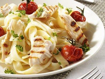 pasta met kip Party Regelaar