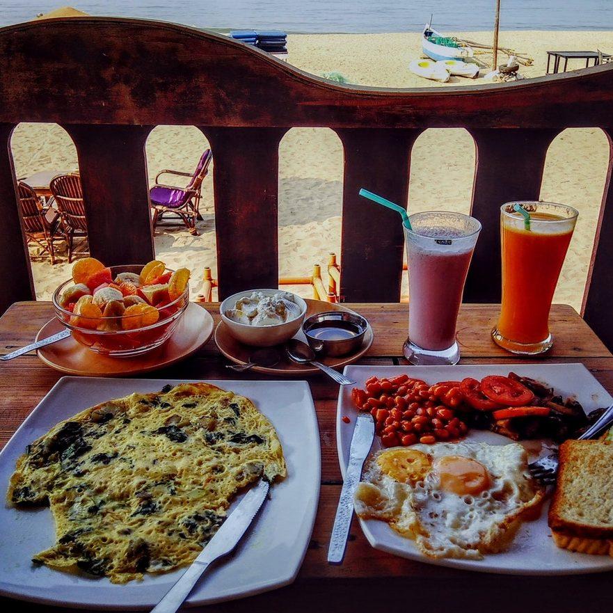 Party Regelaar Strand Ontbijt